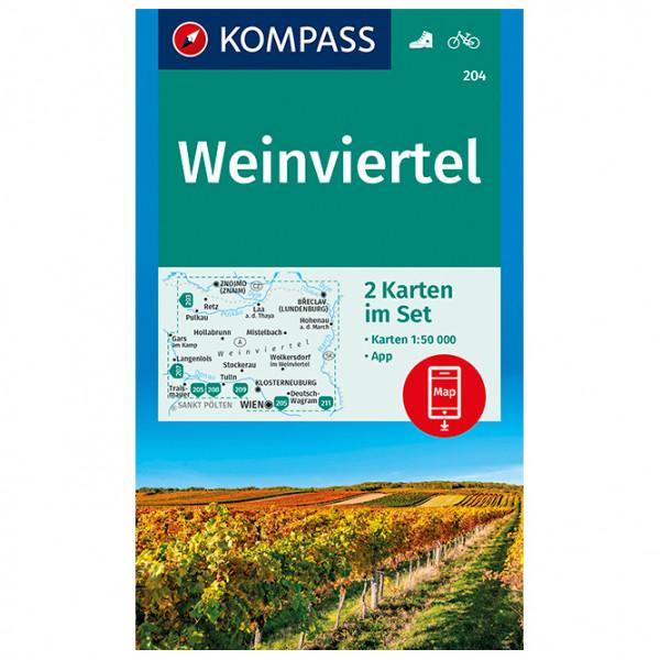 Kompass - Weinviertel - Vandringskartor