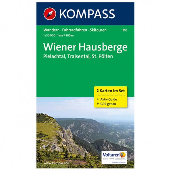 Kompass - Wiener Hausberge - Pielachtal - Traisental - Wandelkaart