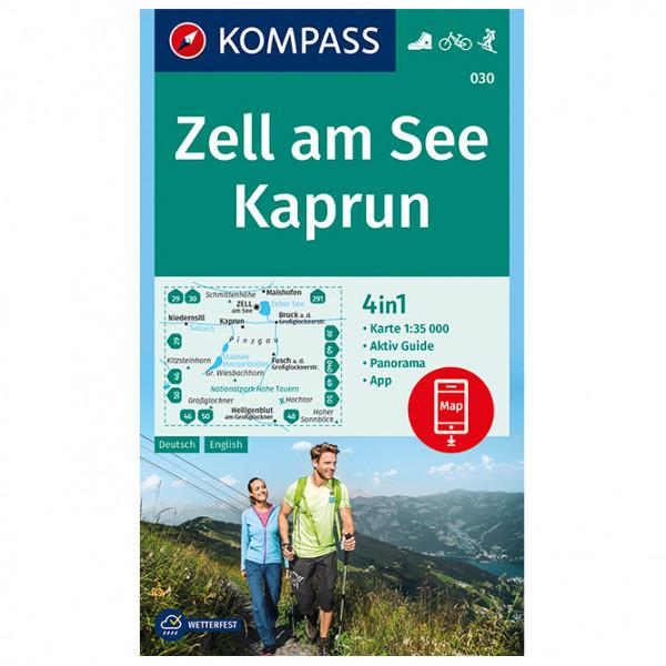 Kompass - Zell am See, Kaprun - Carte de randonnée