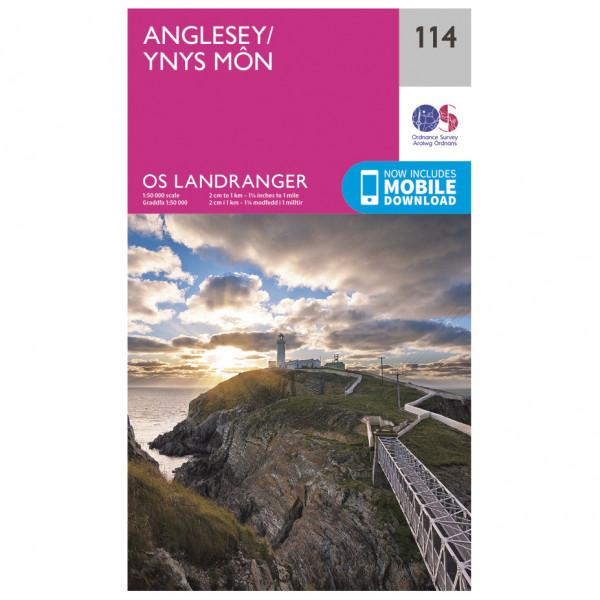 Ordnance Survey - Anglesey / Ynys Môn - Hiking map
