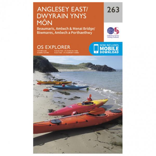 Ordnance Survey - Anglesey East - Wandelkaarten