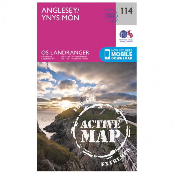 Ordnance Survey - Anglesey Waterproof - Hiking map