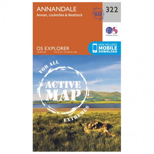 Ordnance Survey - Annandale Waterproof - Vandringskartor
