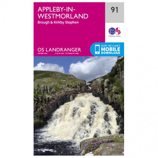 Ordnance Survey - Appleby-In-Westmorland - Wandelkaarten