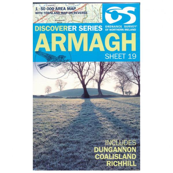 Ordnance Survey - Armagh - Vandrekort