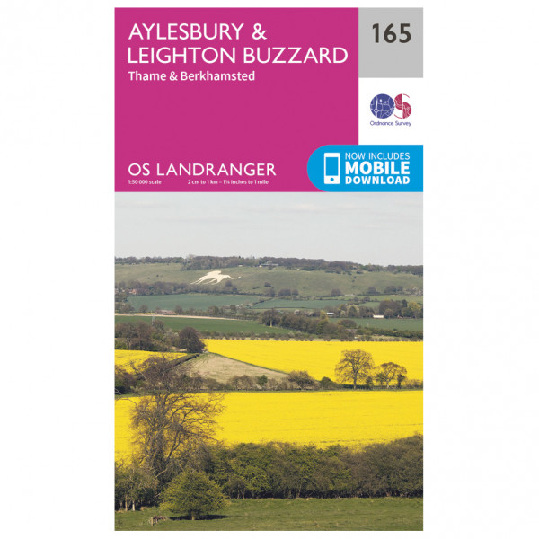 Ordnance Survey - Aylesbury / Leighton Buzzard / Thame / Berkhamsted - Hiking map