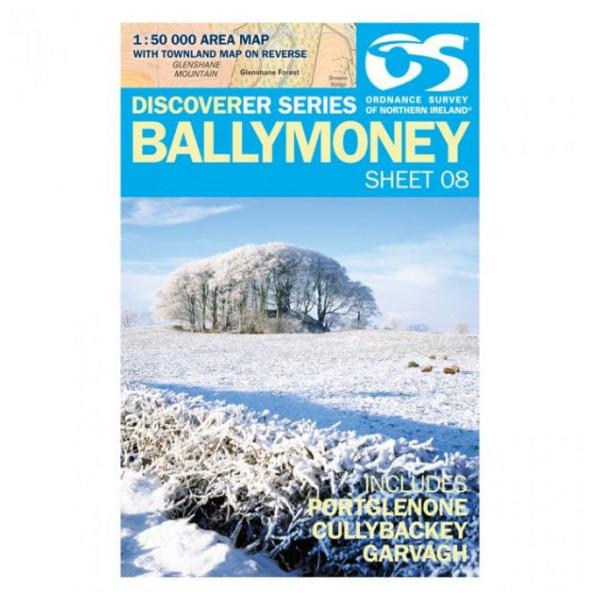 Ordnance Survey - Ballymoney IRD08 - Wanderkarte