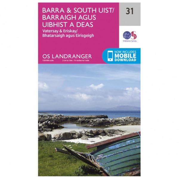 Ordnance Survey - Barra / South Uist - Hiking map