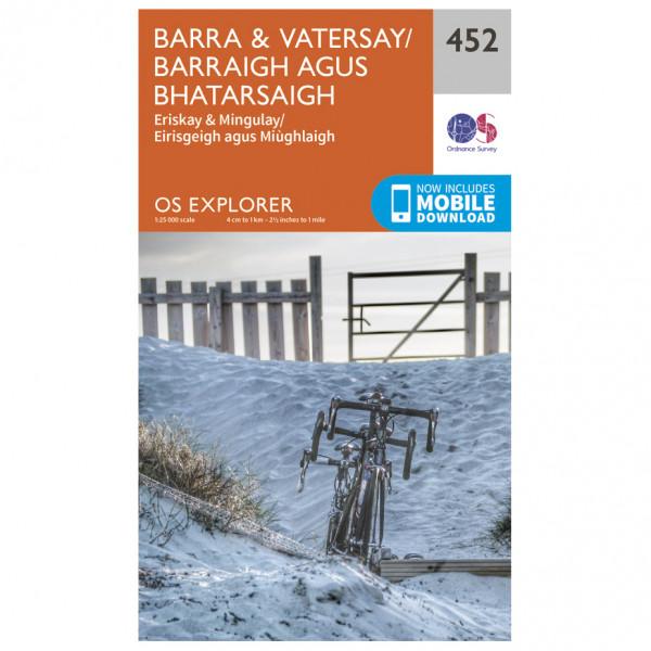 Ordnance Survey - Barra / Vatersay - Hiking map
