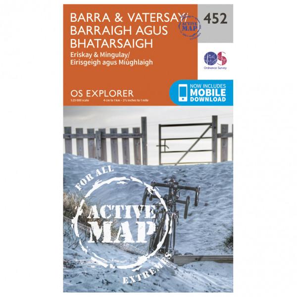 Ordnance Survey - Barra / Vatersay / Barraigh Waterproof - Vaelluskartat