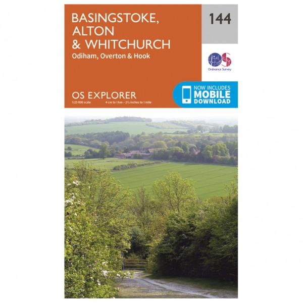 Ordnance Survey - Basingstoke / Alton / Whitchurch - Hiking map