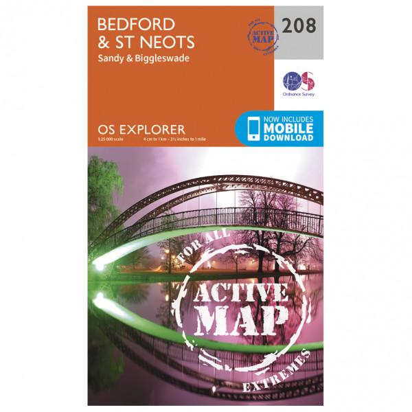 Ordnance Survey - Bedford / St Neots / Sandy Waterproof - Turkart