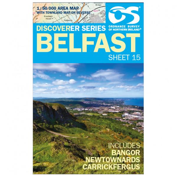 Ordnance Survey - Belfast - Turkart