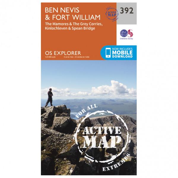 Ordnance Survey - Ben Nevis Waterproof EXPL392 - Wanderkarte