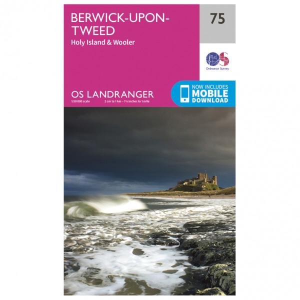 Ordnance Survey - Berwick-Upon-Tweed - Turkart