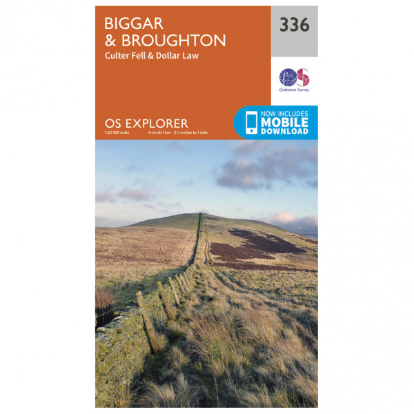 Ordnance Survey - Biggar / Broughton - Mapa de senderos