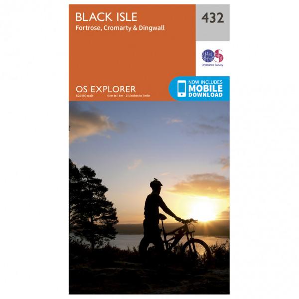 Ordnance Survey - Black Isle - Wandelkaarten