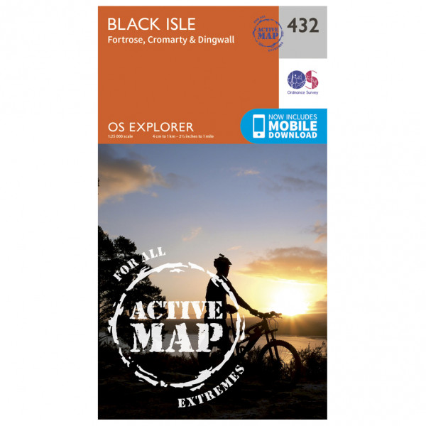 Ordnance Survey - Black Isle Waterproof - Hiking map