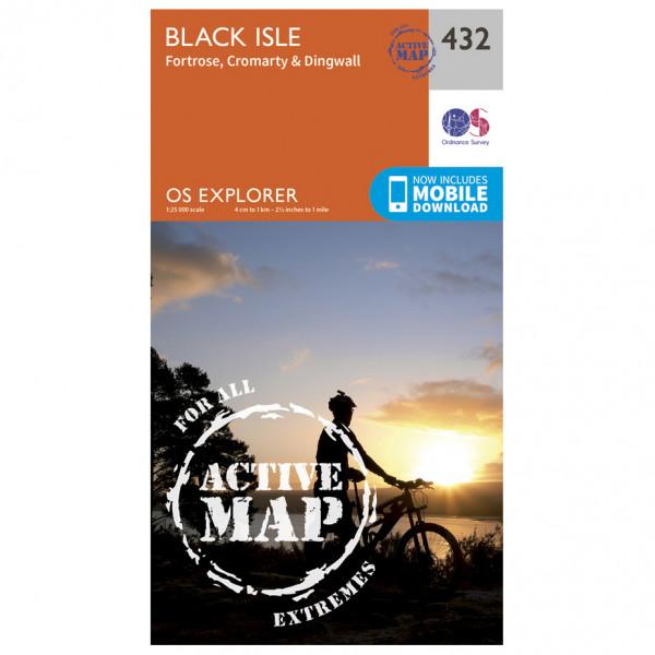 Ordnance Survey - Black Isle Waterproof - Vaelluskartat