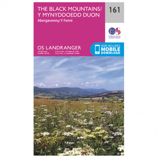 Ordnance Survey - Black Mountains - Hiking map