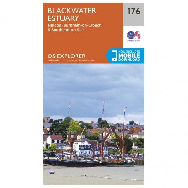 Ordnance Survey - Blackwater Estuary - Vandringskartor