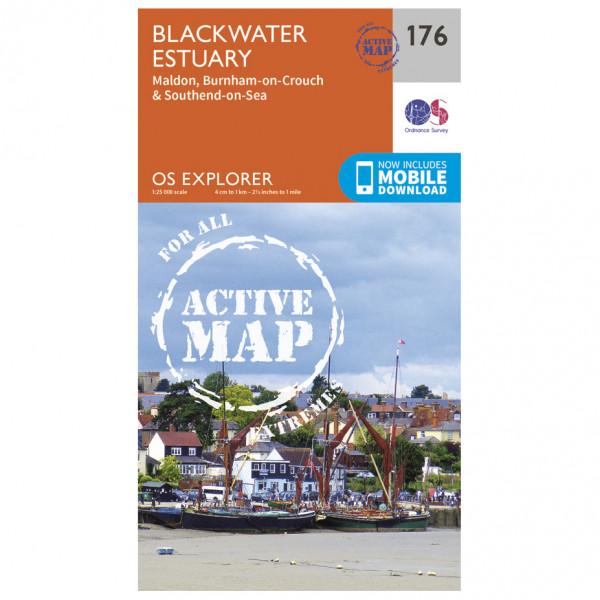 Ordnance Survey - Blackwater Estuary Waterproof - Vandringskartor