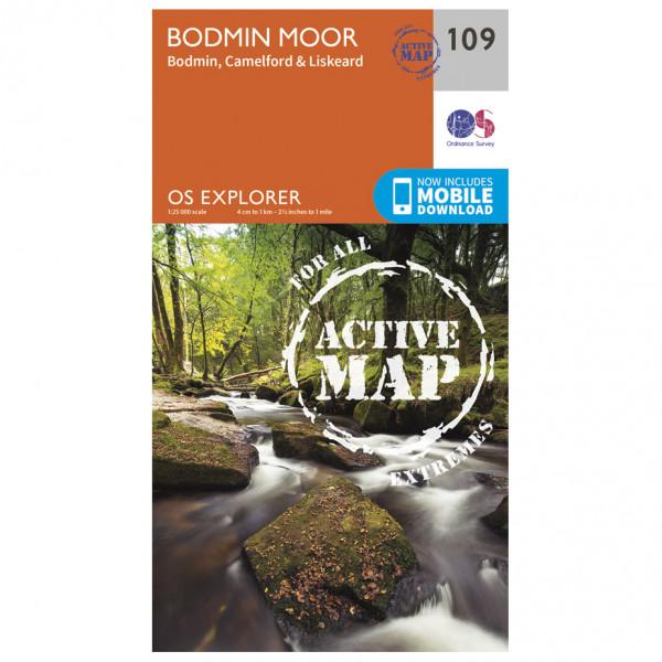 Ordnance Survey - Bodmin Moor / Bodmin / Camelford Waterproof - Hiking map