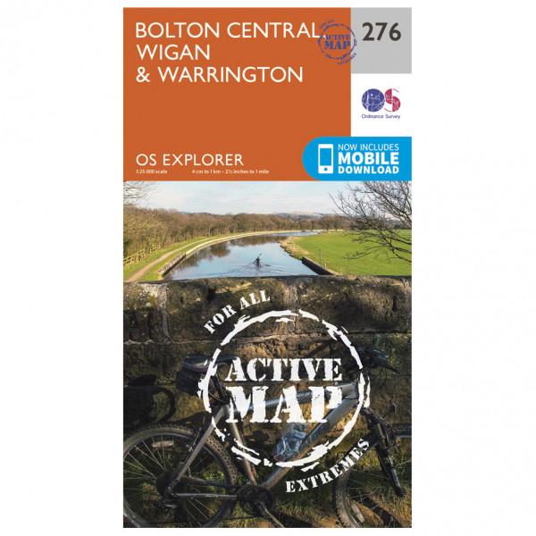 Ordnance Survey - Bolton / Wigan / Warrington Waterproof - Turkart
