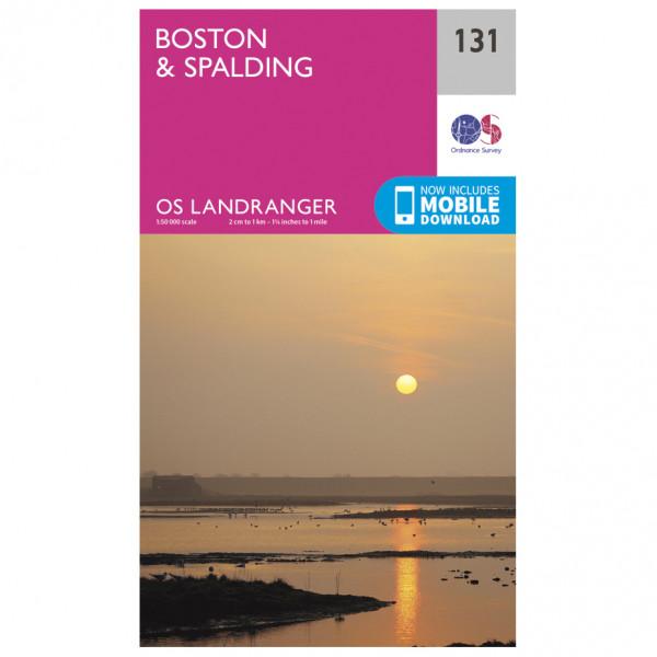 Ordnance Survey - Boston / Spalding - Vandringskartor