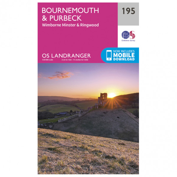Ordnance Survey - Bournemouth / Purbeck - Vandringskartor