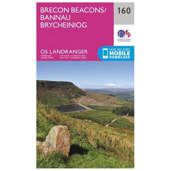 Ordnance Survey - Brecon Beacons Landranger - Wandelkaarten