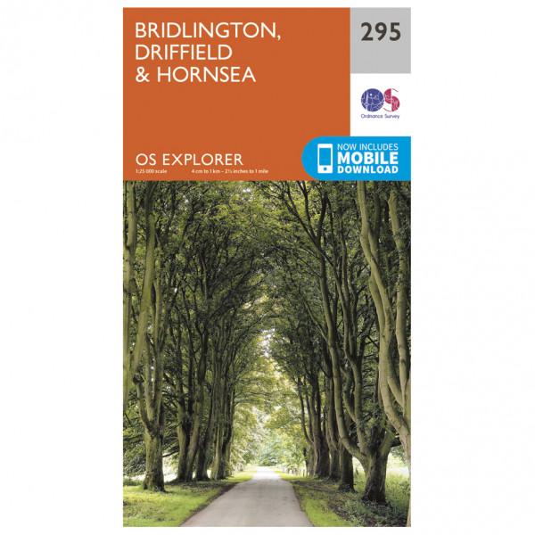 Ordnance Survey - Bridlington / Driffield / Hornsea - Mapa de senderos