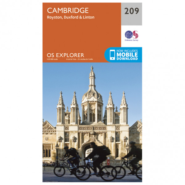 Ordnance Survey - Cambridge (Greenw.M) - Vaelluskartat