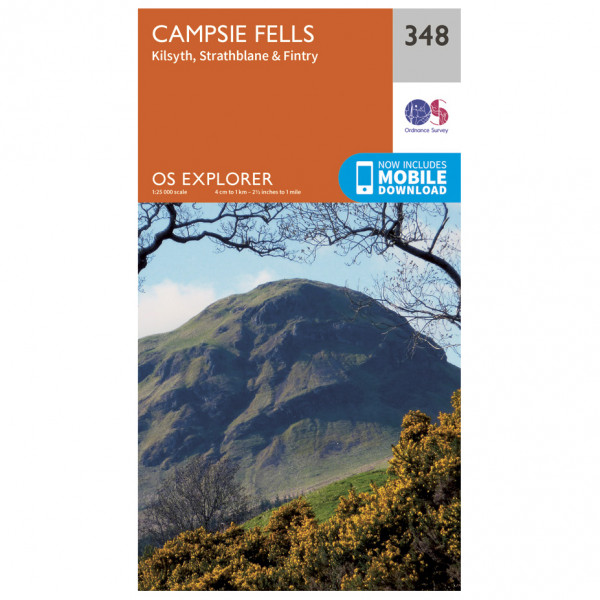 Ordnance Survey - Campsie Fells - Hiking map