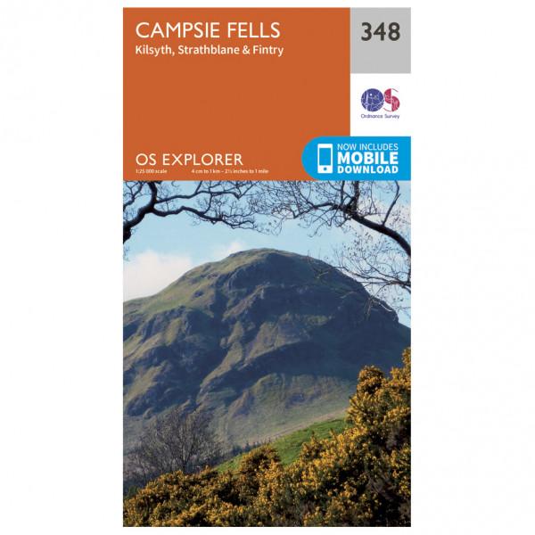 Ordnance Survey - Campsie Fells - Vaelluskartat