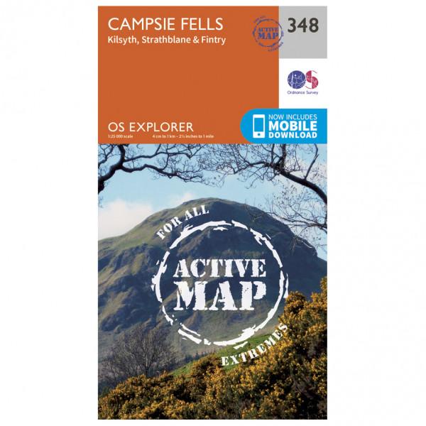Ordnance Survey - Campsie Fells Waterproof - Hiking map