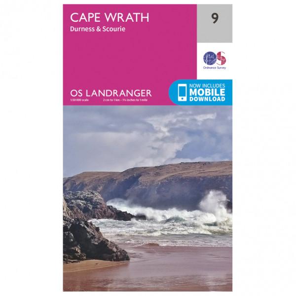 Ordnance Survey - Cape Wrath - Vandringskartor