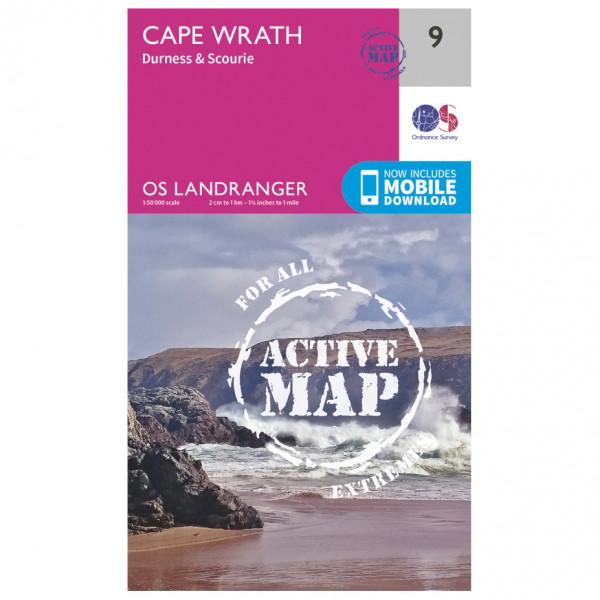 Ordnance Survey - Cape Wrath Waterproof - Vaelluskartat