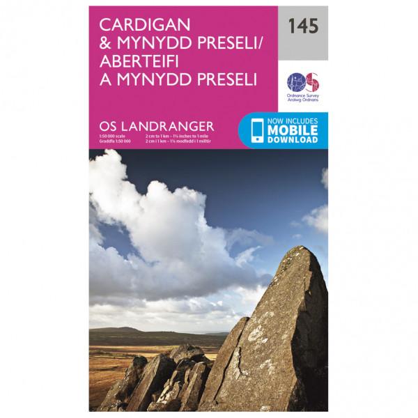 Ordnance Survey - Cardigan / Mynydd Preseli - Vaelluskartat