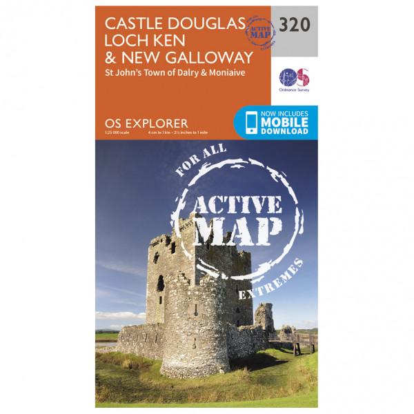 Ordnance Survey - Castle Douglas / Loch Ken / New Galloway Waterproof - Turkart