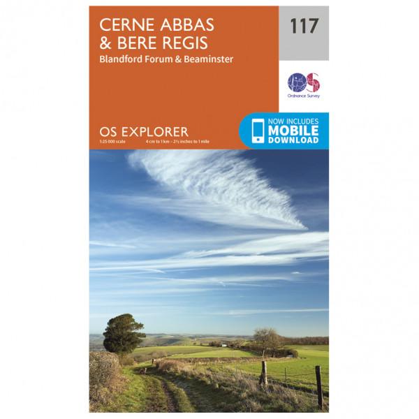 Ordnance Survey - Cerne Abbas / Bere Regs - Vandringskartor