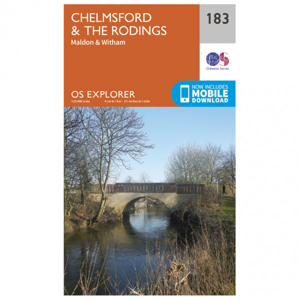 Ordnance Survey - Chelmsford / The Rodings - Hiking map