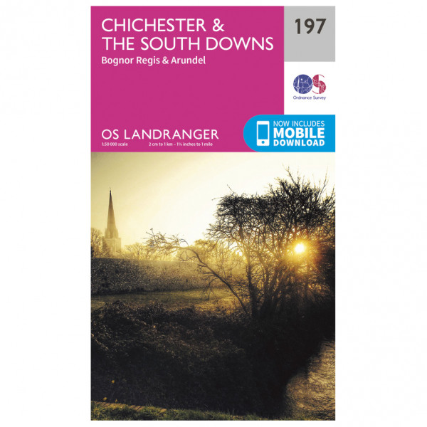 Ordnance Survey - Chichester / The South Downs - Turkart