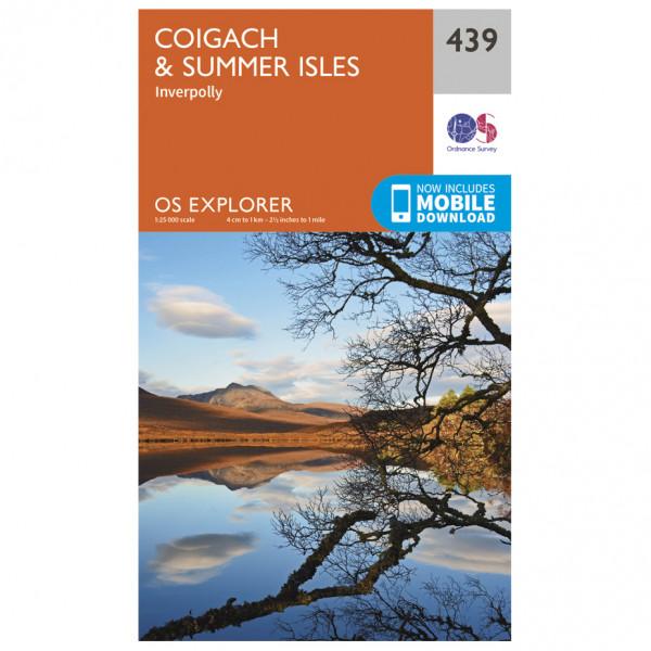 Ordnance Survey - Coigach / Summer Isles - Vandringskartor