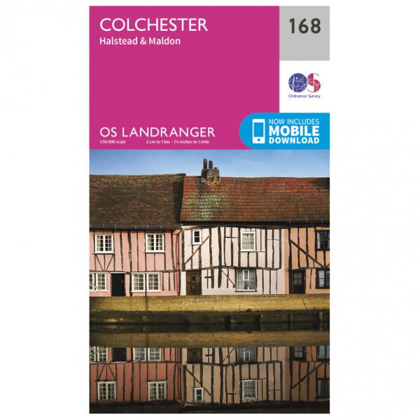 Ordnance Survey - Colchester / Halstead / Maldon - Turkart