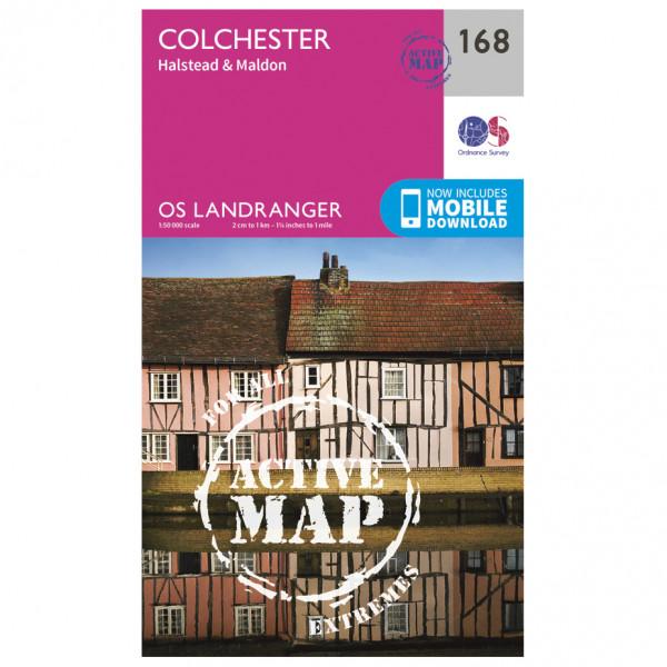 Ordnance Survey - Colchester / Halstead / Maldon Waterproof - Hiking map