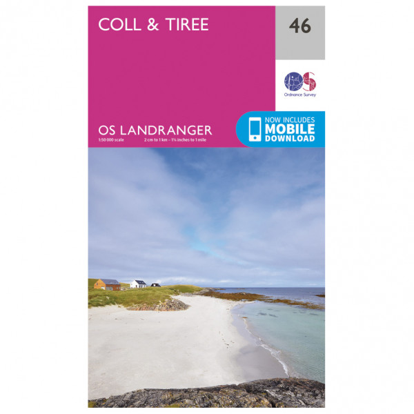 Ordnance Survey - Coll / Tiree - Hiking map