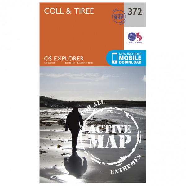 Ordnance Survey - Coll / Tiree Explorer Waterproof - Vandrekort