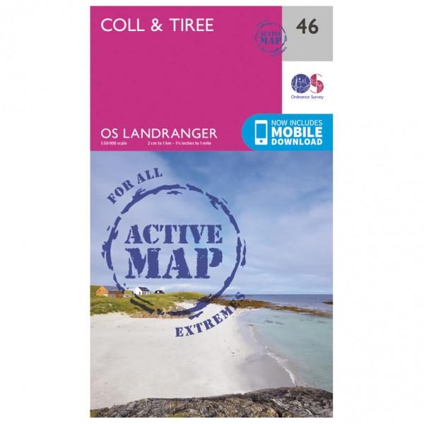 Ordnance Survey - Coll / Tiree Waterproof - Wandelkaarten