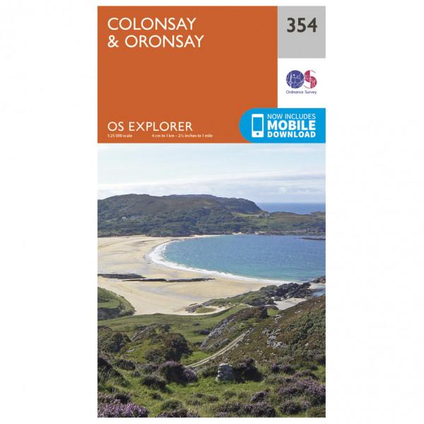 Ordnance Survey - Colonsay / Oronsay - Vaelluskartat